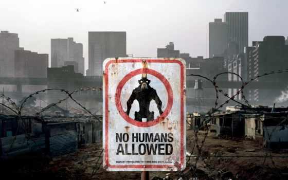 district, movie, alien, корабль, плакат, сниматься, augusta, blomkamp,
