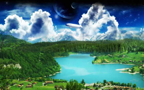 world, dreamy, природа