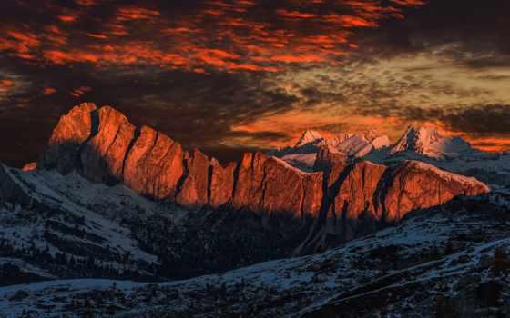 альпы, самые, доломитовые, горы, desktop, pictures,
