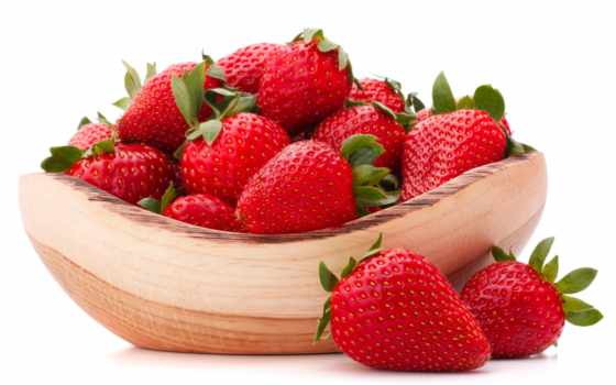 плод, изображение, клубника, еда,