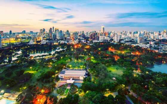 park, lumpinit, bangkok, parkii, thai, осень, лист, japanese, national