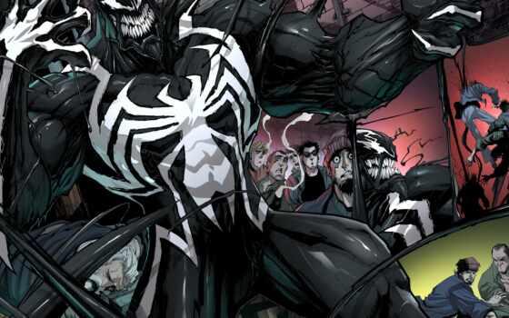 veno, venom, новый, komiks, marvel, pauk, быть, сниматься, груд, sam