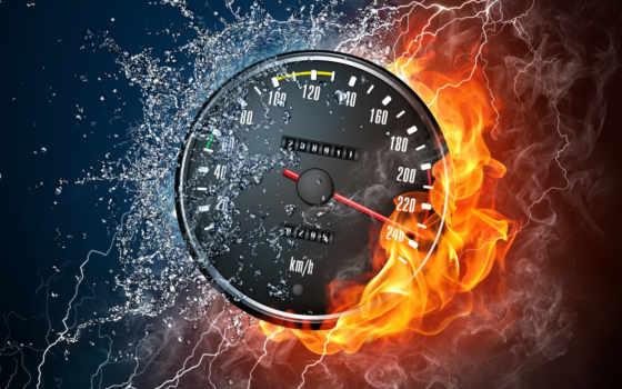 скорость, спидометр