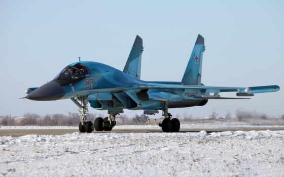 sou, бомбардировщик, су-34