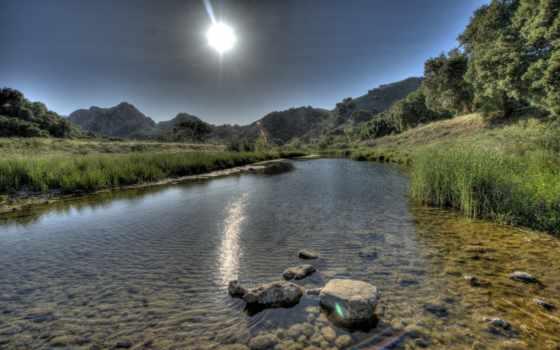 река, water, sun Фон № 154292 разрешение 2560x1600