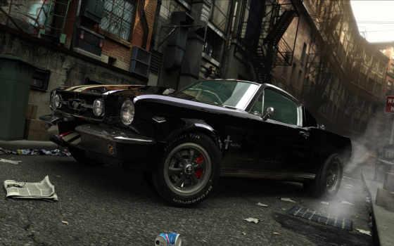 дым, мусор, ford, улица, черный, wallpaper, смотрите,