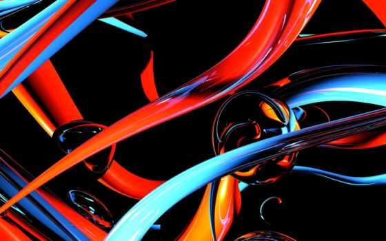 абстракция, картинка, линии