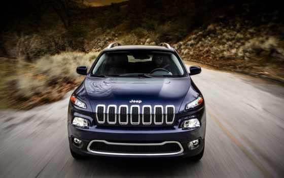 авто, jeep, cherokee, скорость,