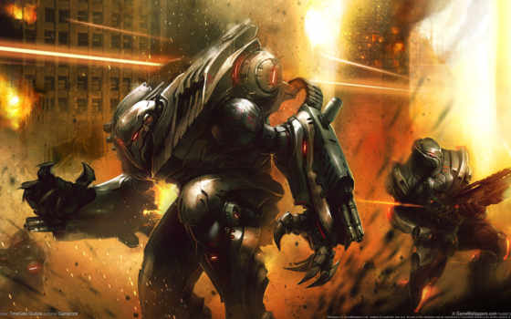 robot, combat, игр Фон № 107386 разрешение 1920x1080