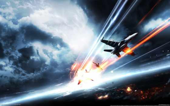 battlefield, самолеты, истребители