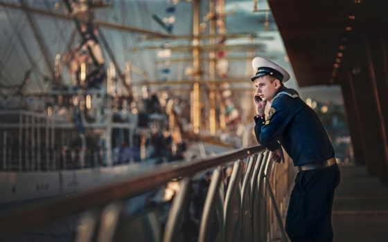моряк, форма, jack, фуражка,