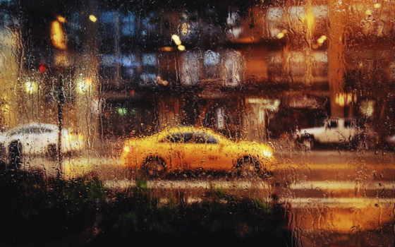 car, зеркало, дождь, широкоформатные, rutor, raindrops, изображение, разрешения,