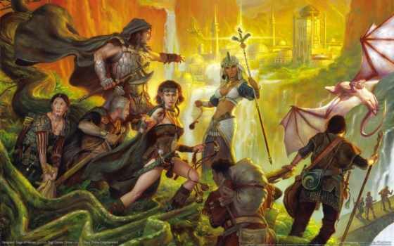 fantasy, герои, devushki, elfy, персонажи, книг, online,
