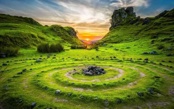 природа, highland, wetland, сено, landscape, permission, станция, поле, гора, палуба