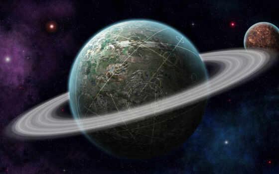 planet, космос, star, ринг, circle, line, daily, красивый, заставка, galaxy