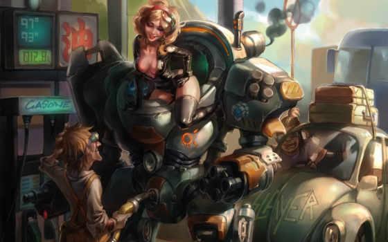 робот, картинку