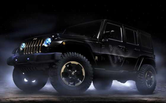 desktop, download, design, автомобили, dragon, concept, jeep, wrangler,