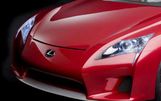 lexus, car, машины, red,