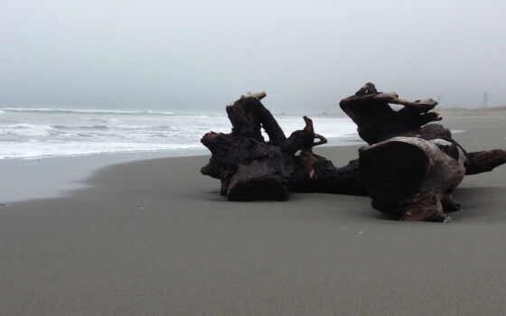 песок, гравий, mineral, море