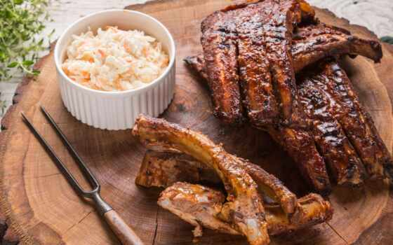 rib, запчасти, чип, sfondo, penford, cavolo, барбекю, veggies, meat, сочный, пост
