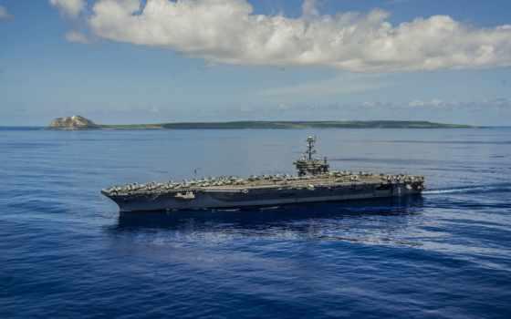 авианосец, uss, cvn, джордж, корабли,