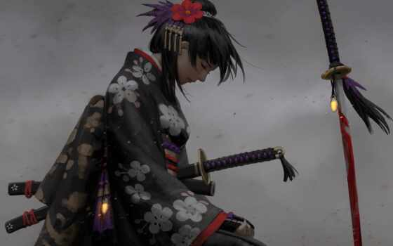 женщина, самурай, красивый, коллекция, люди, user, вся, информация, команда, starladder