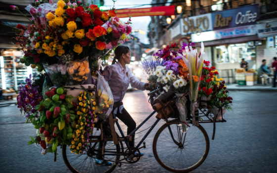 flower, seller, tumblr