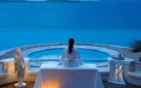 hotel, mykonos, цитата
