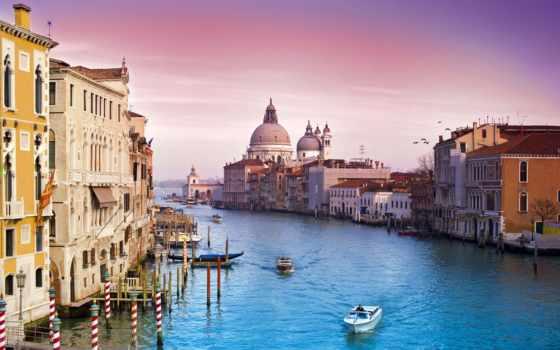 канал, canal, grand, venezia, venice, italy, grande,