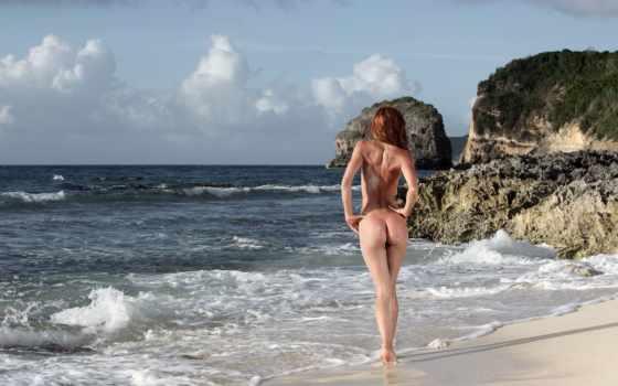 devushki, море, попки, круглые, nudist, сокольник, голая,