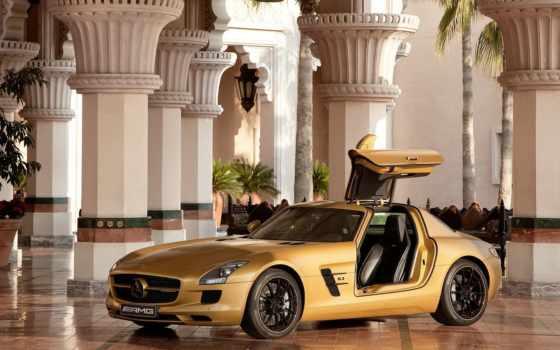 mercedes, sls, их, amg, benz, арабских, шейхов, autoexpert, машины, автомобили,