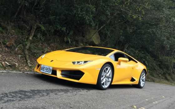 lamborghini, car, sports, cars, free, yellow, preview, спорткар,
