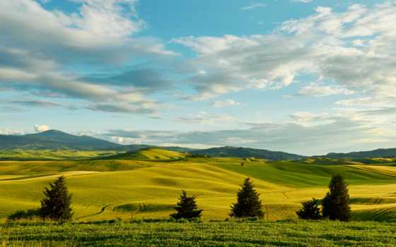 pantalla, margin, fondos, italian, paisaje, tuscany, небо, fondo,