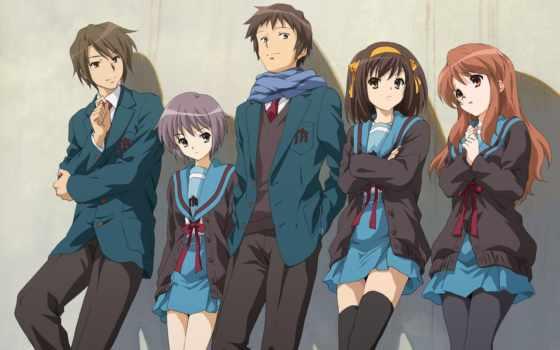 haruhi, suzumiya, anime