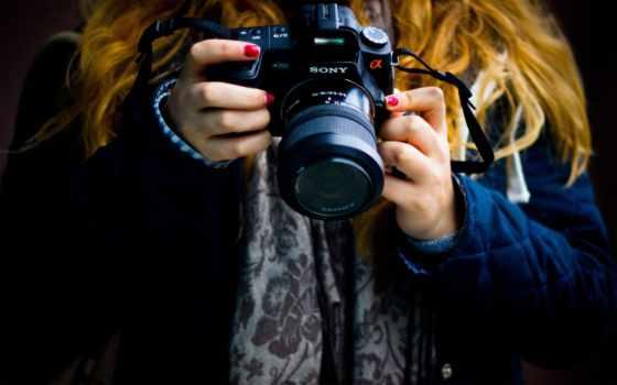 фотоаппарат, devushka, настроения