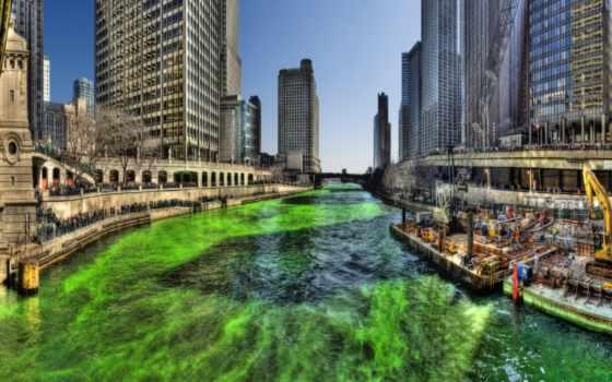 chicago, город, города