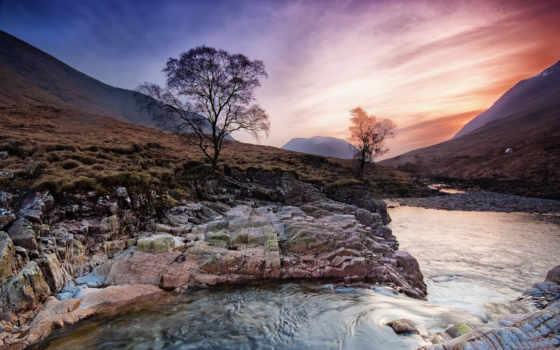 шотландия, sunrises, закат, sunsets, изображение, небо, природа, favorites, desktop, об,
