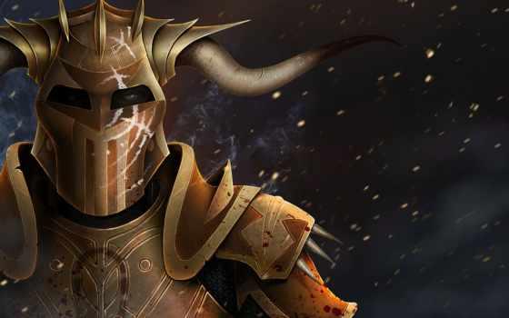 age, дракон, hurlock, фантастика, шлем,