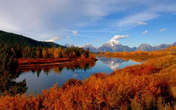 national, osen, park, priroda, природа, monoblok, moran, gora, home, teton, grand