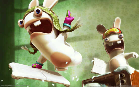 rayman, raving, rabbids, tv, party, game, игры, online,