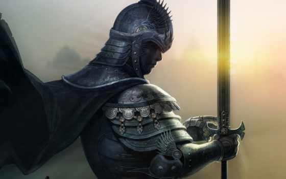 без, рыцарь, разрешении