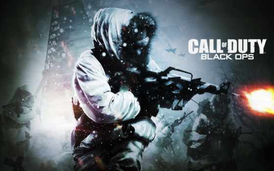 камуфляж, winter, duty, колл, full, оружие, cod, ops, black,