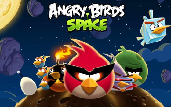 birds, angry, космос, птицы, злые, игры,