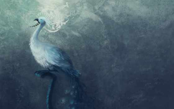 текстура, птица, минимализм, blue, птицы, текстуры,