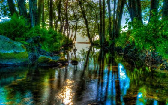 природа, tapety, озеро