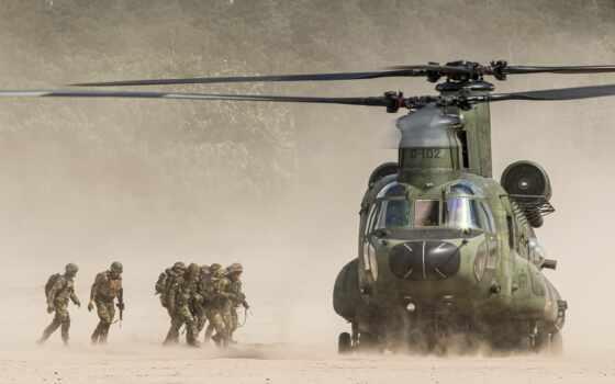 солдат, армия, военный, вертолет, chỉ, авиация, id, low, rnlaf, chinook, фото