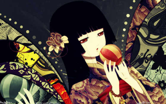 jigoku, shoujo, anime, girl, japanese, clothes, ai, enma, was, this, karashino, manga, not, miss, wii, resolution, hell, paid, latest, toy, ball, salvează, mysterious, home,