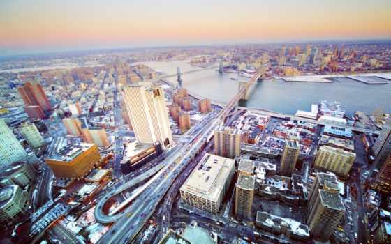 нью, город, york, new, usa, панорама, йорка, мегаполис, сша,