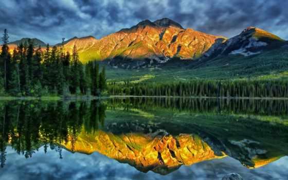 природа, страница, природы, горы, trees, небо, разное, лес,