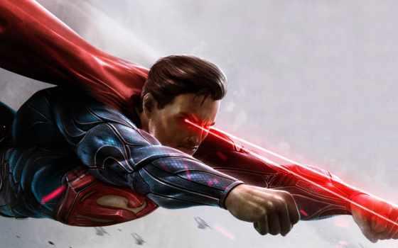 superman, injustice, among, gods, trading,